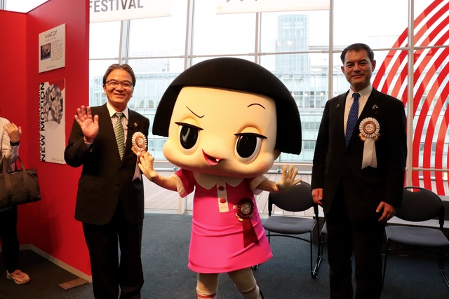 MEXT Minister attends Agency for Cultural Affairs 22nd Japan Media Arts Festival