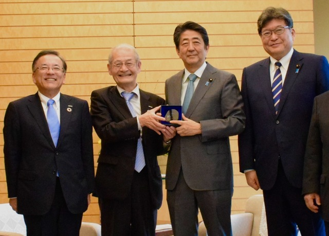 Dr. Yoshino speaks at Council for Science, Technology and Innovation meeting, Prime Minister Abe calls on ministers for drastic improvements in research environment for young researchers